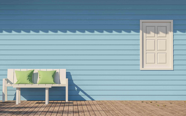 Holzfarbe weiß, Holzdeckfarbe, Farbe für Holz, Holzfarbe