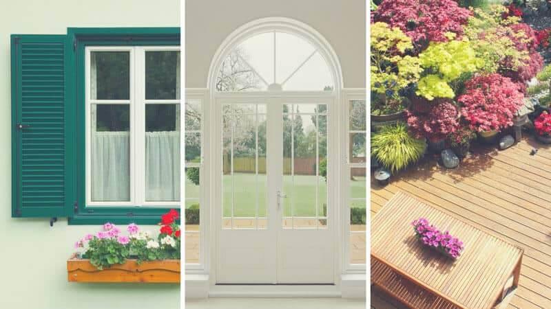 Es gibt auch spezielle Anstriche für besonders strapazierte Oberflächen: Fenster-Anstriche, Tü-ren-Anstriche und Holzterrassen-Anstriche